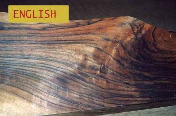 English Walnut Shotgun Blanks