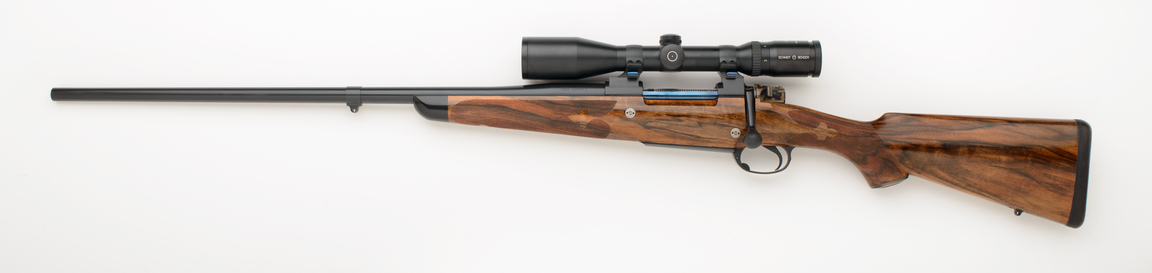 7mm Weatherby left handed custom rifle