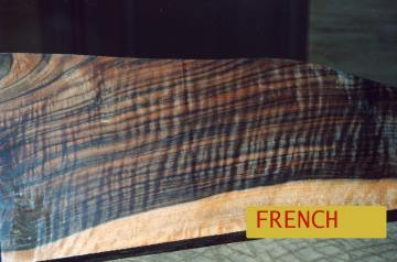 French Walnut Shotgun Blanks