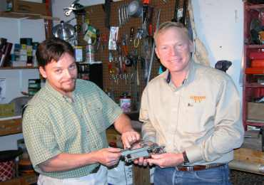 Todd Ramirez rifle builder with Craig Boddington