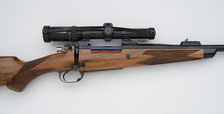 custom 375 right handed bolt action rifle