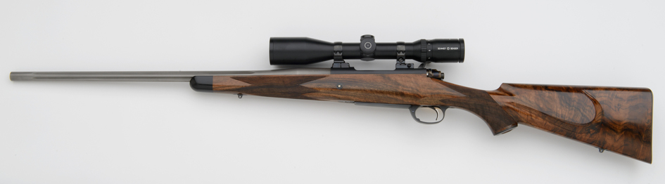 308 Winchester American Classic Custom Rifle with turkish walnut and Schmidt & Bender Scope