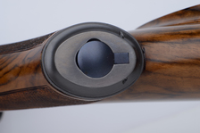 375 right handed custom rifle with trap door grip cap