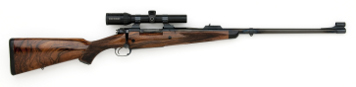 375 Signature Rifle with Schmidt & Bender scope