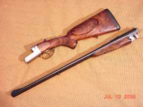 Restored Westley Richards Double Rifle