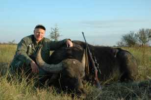 """ I brained a really big water buffalo with our 7x57, 175-grain solid. """