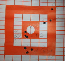308 American Classic target with Federal 165 grain