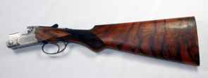 Beretta ASE 20 ga. shotgun restocked with a satin oil finish