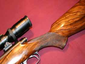 Winchester Pre-64 Custom Rifle restocked