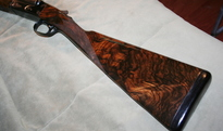 Leather Wrapped Pad on Turkish on Winchester 21